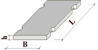 Плита дорожная ПДС 3-2 (3000x2000x140)